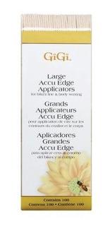 Gigi Accu Edge Wax Spatulas, 100 Aplicador