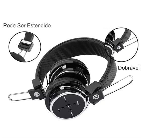 Fone De Ouvido Sem Fio Bluetooth Fm B05 Headfone