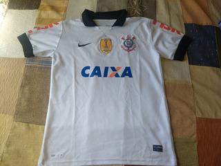 Camisa Corinthians Nike Patch Campeão Mundial 2012