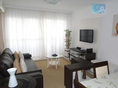 Apartamento Temporada Para Locação, Praia Da Enseada, Guarujá. - Ap4411