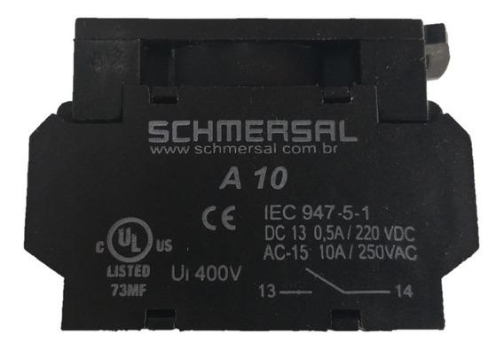 Bloco De Contato 2na+1nf B21 Schmersal Kit C/04 Conjuntos