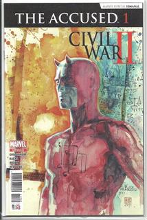 The Accused Civil War Ii. #1 Y The Fallen #1.