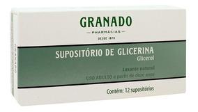 Supositório De Glicerina Granado Adulto 12 X 4g