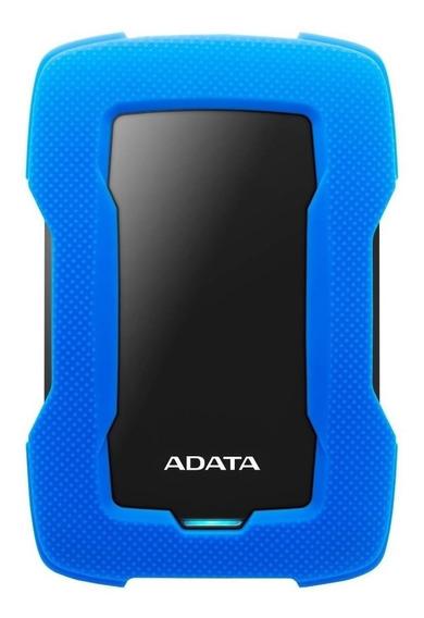 Disco duro externo Adata HD330 AHD330-2TU31 2TB azul