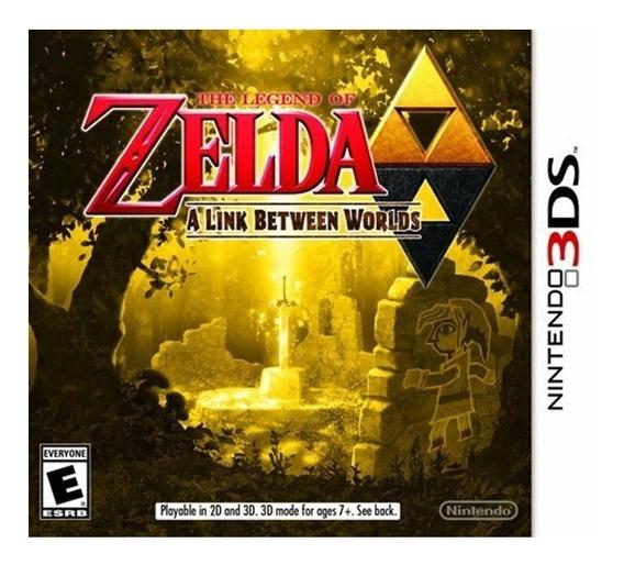 The Legend Of Zelda A Link Between W. 3ds Mídia Física Novo