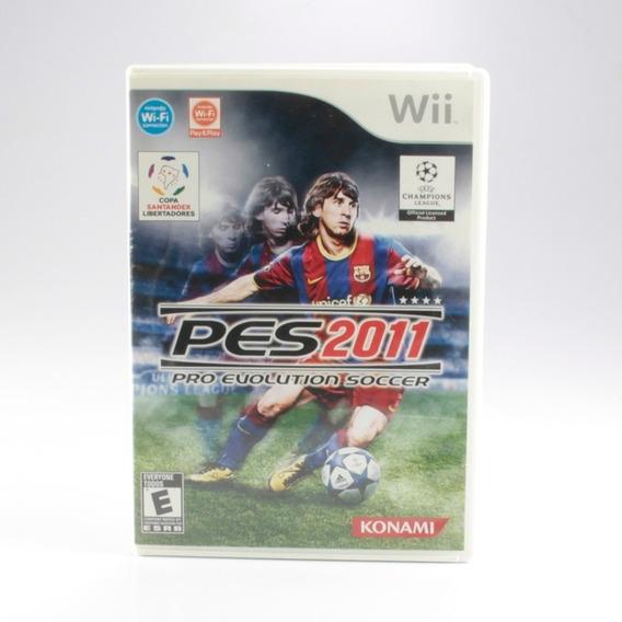 Pro Evolution Soccer 2011 - Pes 2011 - Wii - Completo!