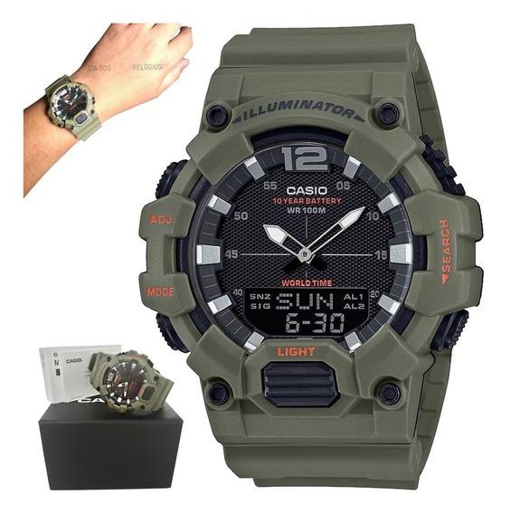 Relógio Casio Illuminator Masculino Hdc-700-3a2vdf
