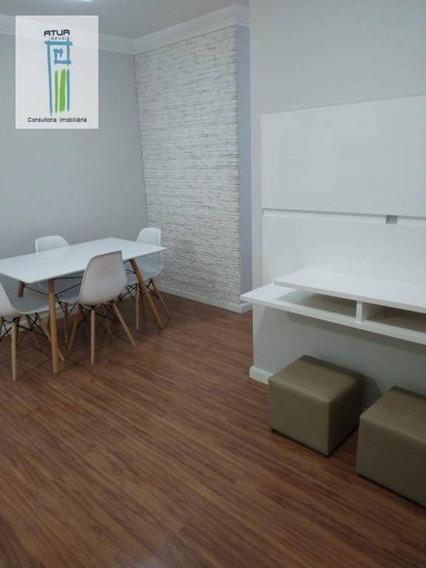 Apartamento Com 2 Dormitórios À Venda, 50 M² Por R$ 260.000 - Parque Novo Mundo - São Paulo/sp - Ap0599