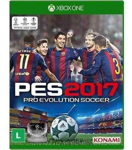 Jogo Mídia Física Pro Evolution Soccer 2017 Pes 2017 Xboxone