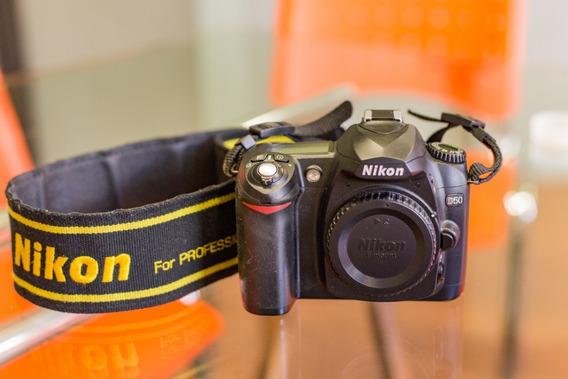 Câmera Dslr Nikon D50 Em Ótimo Estado.
