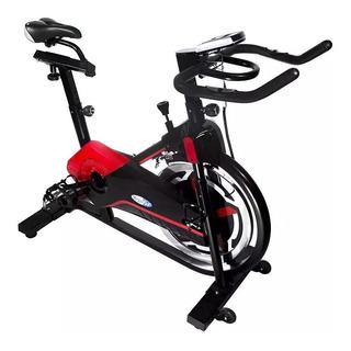 Bicicleta Fija Megafit Spinning Computadora Digital 13kg Mm