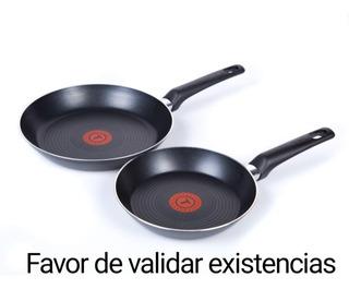 Juego De Sartenes T-fal B3089082 20/24 Cm Con 2 Piezas