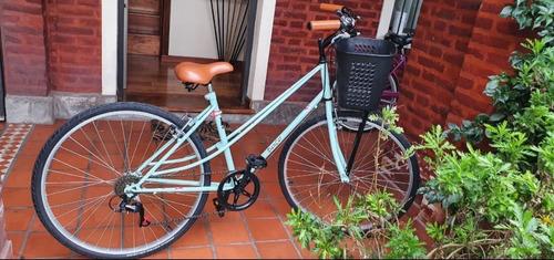 Bicicleta De Paseo Vintage Rodado 29 Con 6 Cambios