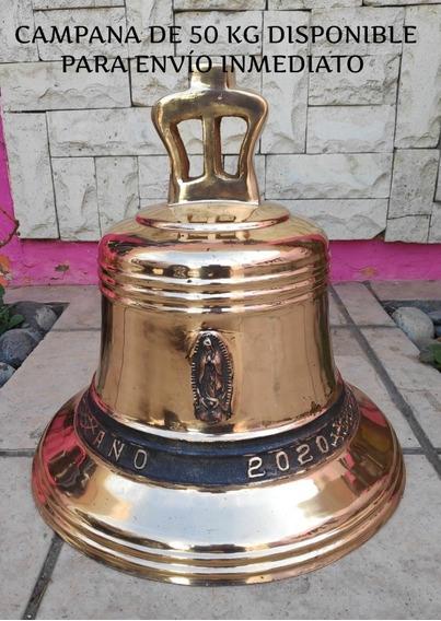 Campana De Bronce Para Iglesia De 50 Cm De Altura