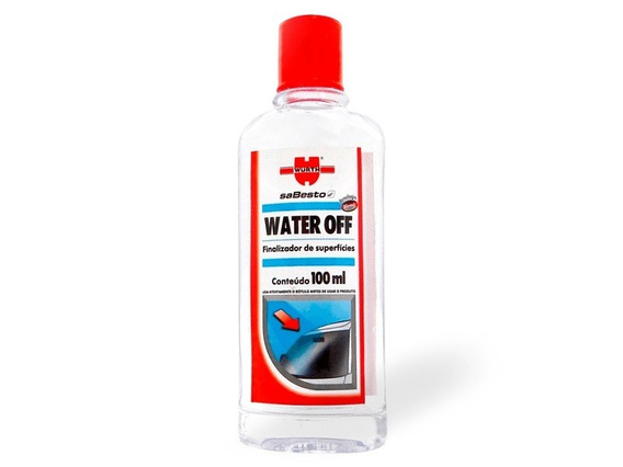 Water Off - Cristalizador De Para Brisa E Vidros Wurth 100ml