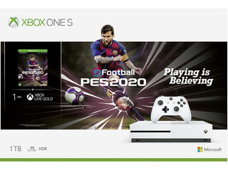 Console Microsoft Xbox One S 1tb + Pes 2020