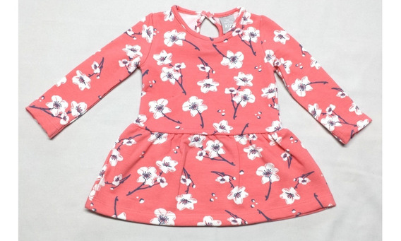 Vestido Bebê E Infantil Em Moletom Flanelado