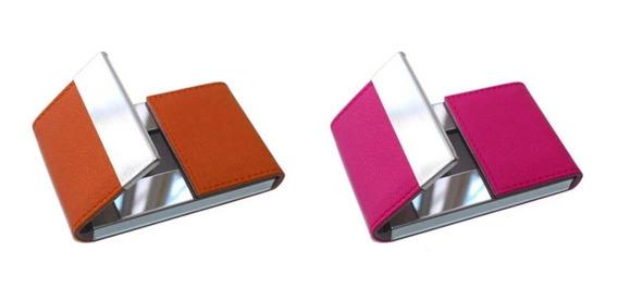 Porta Tarjetas Magnetico Aluminio Billetera Cartera Credenci