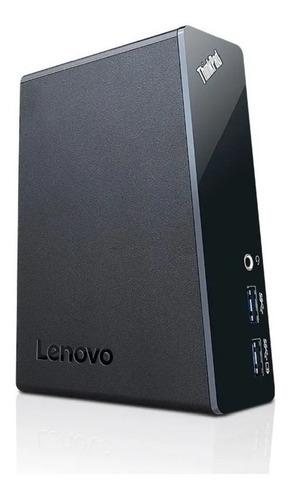 Imagen 1 de 3 de Replicador De Puertos Lenovo Usb 3.0 Dvi Rj45 (open Box)