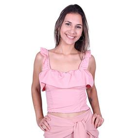 Cropped Bengaline Lilas Chique 30230 - Asya Fashion