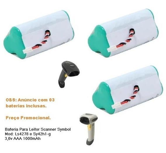 Bateria Scanner Symbol Ls4278 E Sy42h1-g 82-67705-01 3,6v