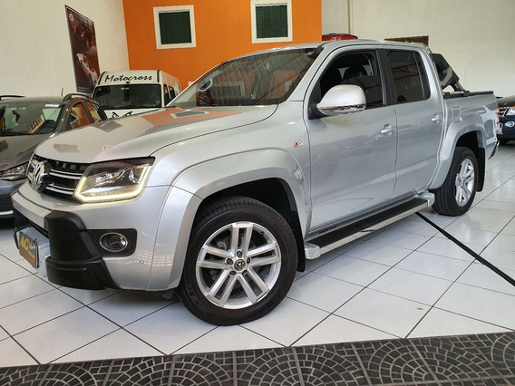Vw Volks Amarok Highline Blindada 2016 Prata N Iii-a Top