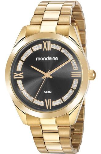 Relógio Feminino Mondaine Dourado 53816lpmvde3