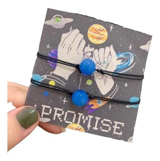 Conjunto De Pulseiras Promise - Brilha No Escuro