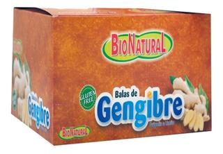 Bala De Gengibre Caixa Com 10 Pacotes De 38g - Natugen