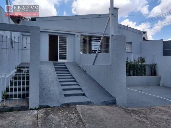 Casa Comercial Para Locação, Jardim Proença, Campinas. - Ca0368