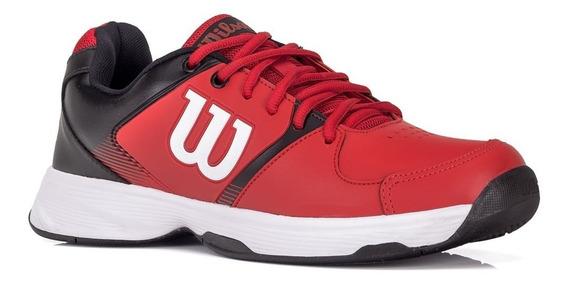 Tênis Wilson Open Para Joga Tennis Vermelho E Preto