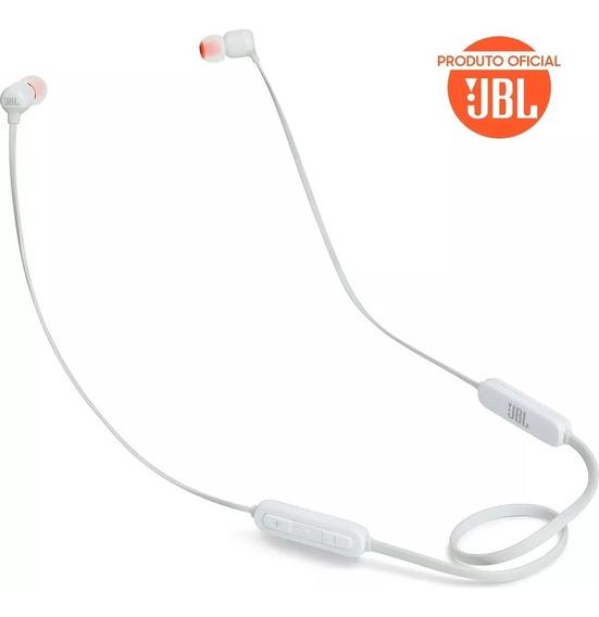 Fone Ouvido Jbl Tune T110bt Bluetooth Com Microfone-branco