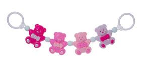 Mobile De Carrinho De Bebe Menina Interativo Urso Pimpolho