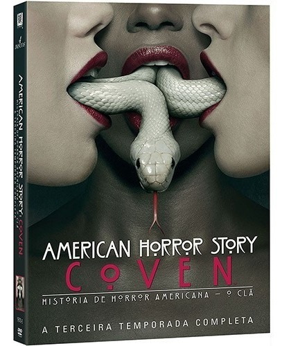 Dvd - American Horror Story: Coven - O Clã A 3ª Temporada