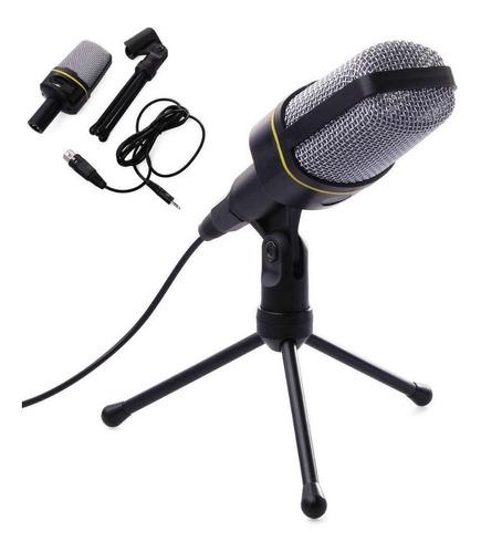 Imagen 1 de 5 de Microfono Profesional Condensador Sf 920 Con Tripode Oferta