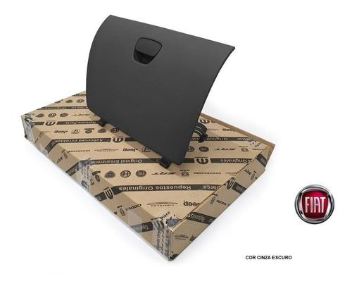 Tampa Porta Luvas Fiat Idea 2011/ - Cinza Escuro 7090627