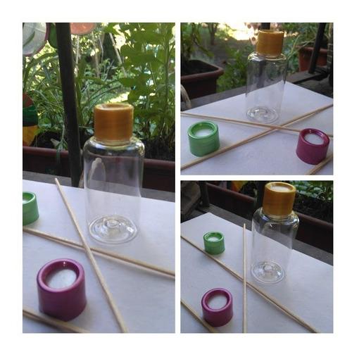Imagen 1 de 7 de Envase Pet Difusor (x 16) Envases + Varillas + Esencia