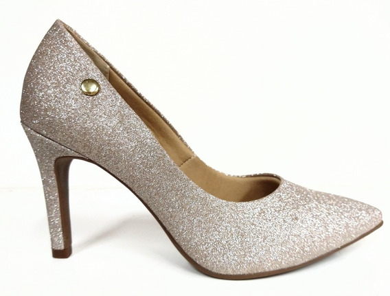 Via Scarpa Zapato Stiletto Dama Glitter Brillo