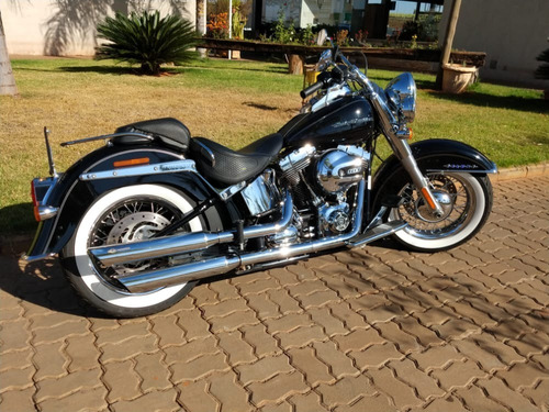 Imagem 1 de 10 de Harley Davidson Softail Deluxe
