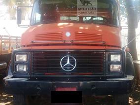 Mb L 1519 Truck, 80/80, Carroc. De Madeira, Cabine Leito