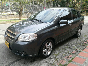 Chevrolet Aveo Emotion 2009 Full Gris Oscuro
