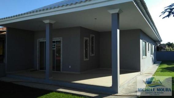 Casa 3 Dormitórios Para Venda Em Araruama, Praia Seca, 3 Dormitórios, 1 Suíte, 2 Banheiros, 2 Vagas - 139