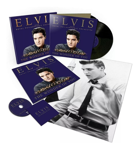 Elvis Presley - The Wonder Of You Philhamornic - Box Set