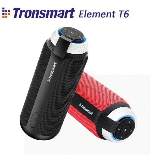 Caixa De Som Portátil Tronsmart Element T6 - Envio Imediato