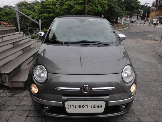 Fiat 500 1.4 Cabrio 16v Flex 2p Automatico
