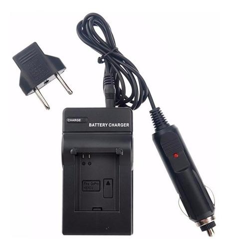 Cargador Gopro Hero 3 / 3+ Auto Y Pared - Camara Bateria