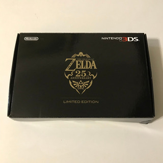 Nintendo 3ds Zelda 25th Anniversary Completo + Jogo Brinde