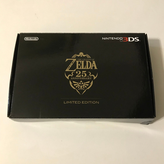 Nintendo 3ds The Legend Of Zelda 25th Anniversary Completo