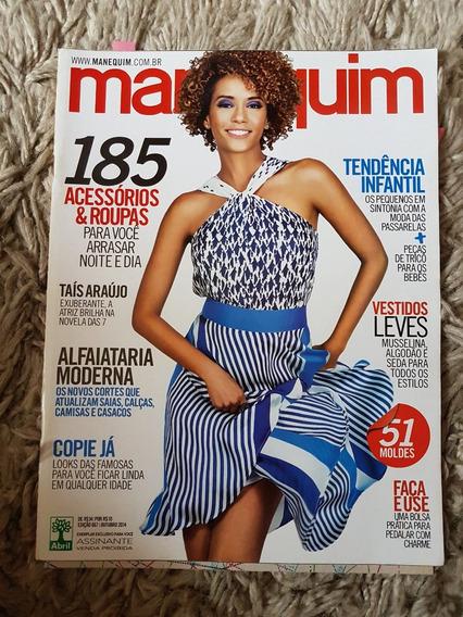 Revista Manequim Edição 667 Outubro 2014 Com Moldes