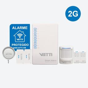 Kit Alarme Vetti - Smart Alarm Kit + Gsm Sem Fio 730-0763